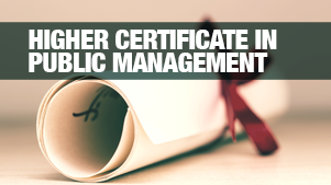 Earn a Higher Certificate in Public Management at Regenesys Business School